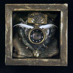 Online portfolio of Assemblage Artist Michael deMeng Plum Organics, Found Art, Lonely Heart, Assemblage Art, Heart Art, Altered Art, Online Portfolio, Steampunk, Lion Sculpture