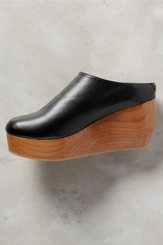 Sydney Brown Vegan Clogs - anthropologie.com