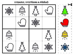 Zimni ukolky Pre School, Advent, Coding, Activities, Education, Math, Holiday Decor, Christmas, Kids