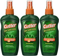 Cutter Backwoods Insect Repellent 25Percent DEET Pump Spray 6Ounce Pack of 3 *** Check out this great product.