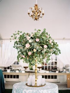 50 inspiration of art deco party, you'll love it 10 - Beauty of Wedding White Flower Centerpieces, Tall Wedding Centerpieces, Wedding Reception Decorations, Wedding Table, Tall Centerpiece, Wedding Mandap, Stage Decorations, Wedding Receptions, Eucalyptus Bouquet