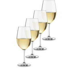 Dailyware™ 17 1/2-Ounce White Wine Glasses (Set of 4) - BedBathandBeyond.com