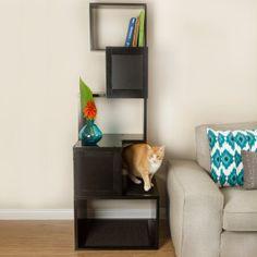 Designer Pet Products Sebastian Modern Cat Tree Furniture Towers Petsmart