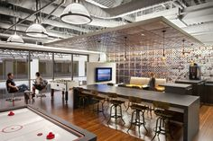 Veltis New San Francisco Offices office space, office design, office interiors Office Space Design, Workspace Design, Office Interior Design, Office Designs, Office Spaces, Work Spaces, Kitchen Interior, Office Bar, Cool Office