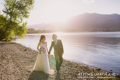 New Zealand Mountain Wedding Photography by Alpine Image Company