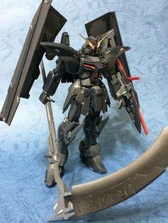 GUNDAM GUY: MG 1/100 Gundam Deathscythe Hell - Custom Build