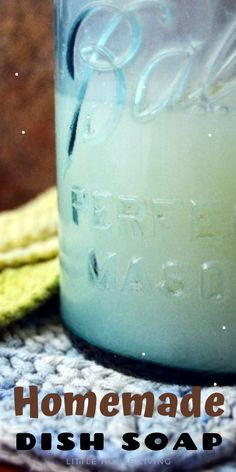 Thought you've made every DIY project out there? How about Homemade Dish Soap? Do It Yourself Projects, Cool Diy Projects, Make It Yourself, Homemade Dish Soap, Little House Living, Amazing Crafts, Simple Crafts, Types Of Craft, Easy Crafts For Kids