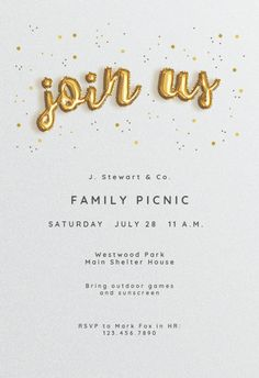 Pro Balloons invitation template. Customize, add text and photos. Print, download, send online for free!  #invitations #printable #diy #template #professionalevents #party #corporate