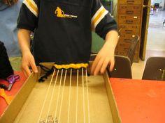 Teaching for Artistic Behavior (TAB) weaving center