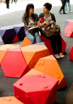 Madrid Chair modular street furniture by Ecosistema Urbano. Click image for link to full profile and visit the slowottawa.ca boards >> http://www.pinterest.com/slowottawa