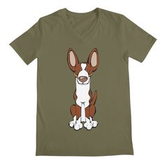 Calling all Ibizan Hound Lovers!  Check this design as well as 100s more designs in the Angry Squirrel Studio Threadless Artist Shop. Available in multiple colors and styles. #threadless #artistshop #angrysquirrelstudio #dogsofpinterest #IbizanHound https://angrysquirrelstudio.threadless.com