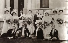 Newport RI, Gilded Age Society wedding at, The Breakers. Gertrude Vanderbilt, daughter of Cornelius and Alice Vanderbilt 11, weds Harry Payne Whitney August 25th 1897.