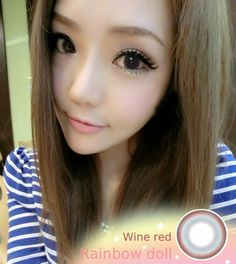 Get Red Eyes Unusal Circle Colored Contact Lenses Rainbow Girl Claret Cosmetic Contact Lenses, Cosplay Contacts, Halloween Contacts, Circle Lenses, Colored Contacts, Rainbow, Cosmetics, Wine, Red Eyes