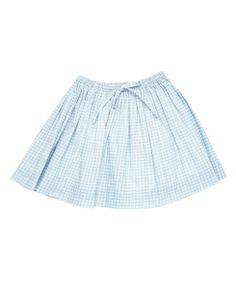 Blue Check skirt - Caramel Baby & Child