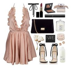 A fashion look from December 2016 featuring halter crop tops, Manolo Blahnik and handbag purse. Browse and shop related looks. Kpop Outfits, Chic Outfits, Fashion Outfits, Womens Fashion, Mode Ulzzang, Wedding Night Lingerie, Cute Sleepwear, Angel Outfit, Turkish Fashion