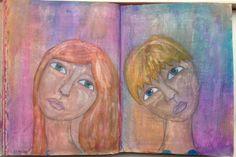art journal pagina