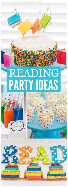 Bring your favorite book for this book exchange reading party! See more party ideas at CatchMyParty.com!