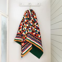 Life is about using the whole box of lovely crayons. This colourful beauty is made of cotton patches and handmade by women from India following an ancient tradition. It's a unique piece, available in our shop and online.