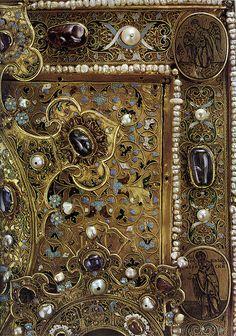 "russianEnamels-Оклад иконы ""Одигитрия"". 1560 Фрагмент | Flickr - Photo Sharing!"