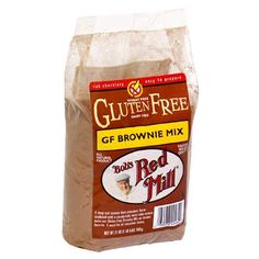Best GFDF Brownies ever: Use Coconut Oil and a little espresso in place of the water=AMAZING! Bob's Red Mill Gluten-Free Brownie Mix.
