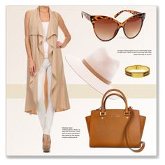 """""""Beige and Brown"""" by luvsassyselfie ❤ liked on Polyvore featuring rag & bone"""