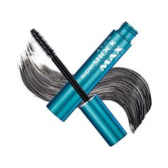 High-gloss lushness instantly. Helix brush layers your lashes to their very tips. Super brush delivers maximum fullness. .35 oz. net wt.<br>TO USE:  Apply mascara using sweeping upward strokes for shocking results.