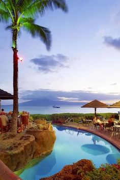 What We Love: Poolside BBQs and tropical cocktails.  Sheraton Maui Resort & Spa (Lahaina, Hawaii)