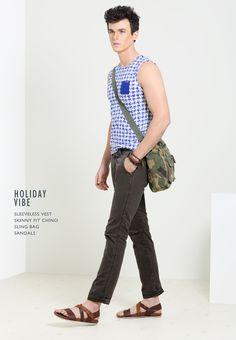 Basics Life - SS '14 Lookbook for Men www.basicslife.com