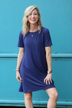 Shop Jess Lea Boutique Gabby Perfect Pocket Dress  #jesslea #jessleaboutique #jessleastyle #casualstyle #momstyle #casualoutfit #easyoutfit #ootd #boutique #boutiquestyle #comfydresses #fallstyle