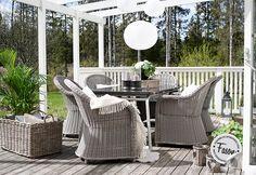 Fasonblog: veranda  #porch #veranda #patio #altan #interior #inredning