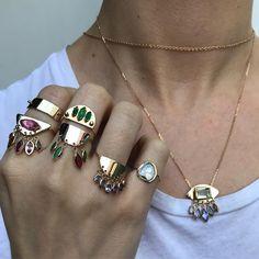 "1,808 Likes, 23 Comments - ROSEARK (@roseark) on Instagram: ""🎉 @christinamagdolnajewelry #ChristinaMagdolnaJewelry #New #ROSEARK"""