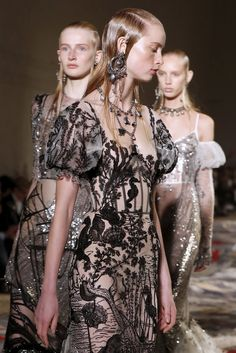 fashion elegance luxury beauty — forlikeminded:     Alexander McQueen   Paris...