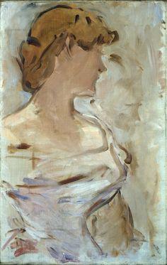 Edouard Monet - Marguerite de Conflans en Toilette de Bal, 1870-80