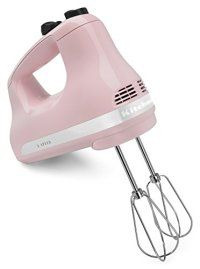 Looking for KitchenAid Hand Mixer, 1 , Pink ? Check out our picks for the KitchenAid Hand Mixer, 1 , Pink from the popular stores - all in one. Specialty Appliances, Small Appliances, Home Appliances, Pink Kitchen Appliances, Baking Appliances, Kitchen Tools, Kitchen Gadgets, Kitchen Dining, Kitchen Ideas