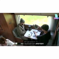 Jimin asked to switch seats in case he got carsick, but look at how caring the boys are © sweaterpawsjimin