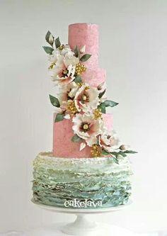 pretty for garden party, spring wedding or bridal shower