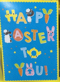 print & pattern: EASTER 2019 - the card factory