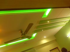 "Changing your ""dreams"" into reality. Nafees Interiors Cool designer ceilings with wonderful lighting ambience"