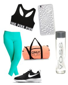 """Morning Workout"" by juhnaelove on Polyvore featuring NIKE"