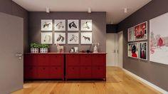 Projekt domu Murator C333u Miarodajny - wariant XVIII 99,20 m² - koszt budowy - EXTRADOM 20 M2, Villa, Kitchen Cabinets, Vogue, Home Decor, Decoration Home, Room Decor, Cabinets, Home Interior Design