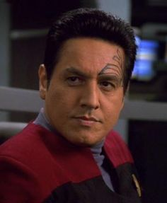 Chakotay was a century Human Starfleet officer and former Maquis member, best known as first officer under Captain Kathryn Janeway aboard the USS Voyager. Played by Robert Beltran Watch Star Trek, Star Trek Show, Star Wars, Star Trek Voyager, Robert Beltran, Captain Janeway, United Federation Of Planets, Star Trek Images, Star Trek Characters