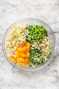 Crunchy ramen noodles and cabbage make this easy Asian ramen noodle salad with an addictive dressing an instant picnic and pot luck favorite. Best Salad Recipes, Asian Recipes, Vegetarian Recipes, Cooking Recipes, Healthy Recipes, Ethnic Recipes, Delicious Recipes, Healthy Habits, Cooking Tips