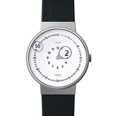Zoomin watch by Gennady Martynov and Emre Cetinkoprulu. With this watch you won't say that you don't see the time...