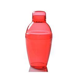 Fineline Settings 4101-RD 7 oz Plastic Cocktail Shaker/Case of 24