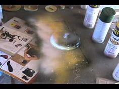 Spray Paint Art Tutorial: Pyramids