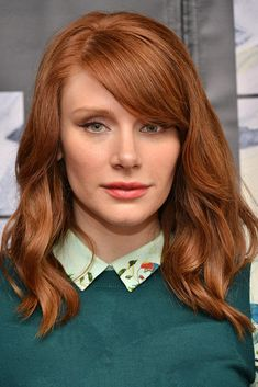 7 Hair Color Trends You Need to Know About for Fall Bryce Dallas Howard has a red hair color everyon Hair Color Auburn, Auburn Hair, Red Hair Color, Red Hair Celebrities, Cinnamon Hair Colors, Red Hair Inspiration, Bryce Dallas Howard, Gorgeous Hair Color, Ginger Hair