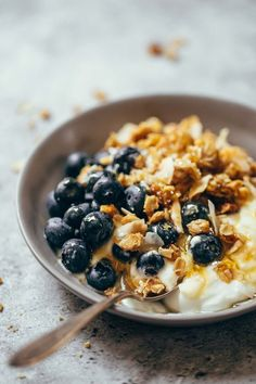 Coconut Pecan Cabin Granola recipe / pinchofyum.com  More yummy breakfast…