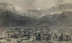 Tujunga, California – my great-great grandfather built a house here in 1920