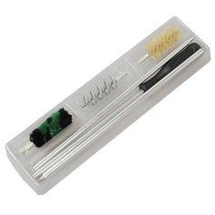 6Pcs/Set Aluminum Rod Brush Cleaning Kit For 12 GA Gauge Gun Hunting Tactical Shotgun Rifle Cleaning Brush Set High Quality