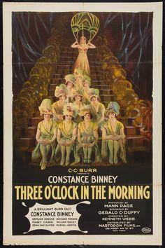Three O'Clock in the Morning (1923) Stars: Constance Binney, Edmund Breese, Richard Thorpe ~ Director: Kenneth S. Webb